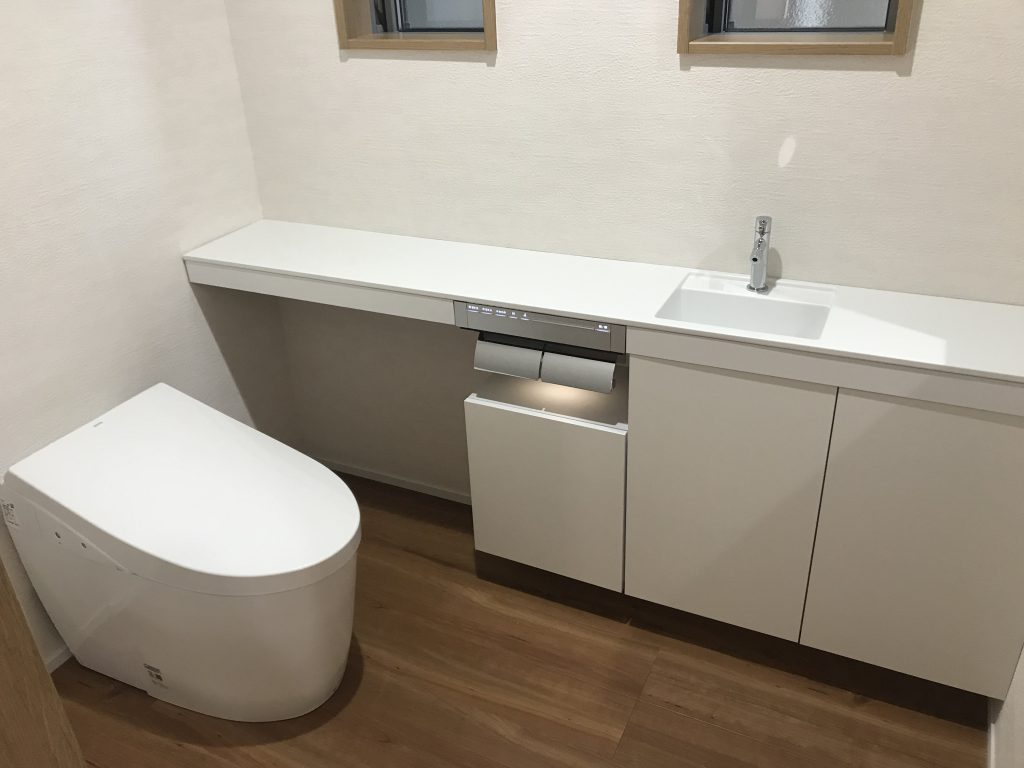 呉市リフォーム  イッコー建築事務所  トイレのリフォーム